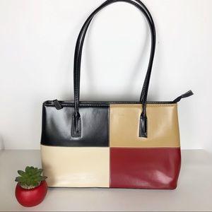 Handbags - Color Block Classy Shoulder Bag.